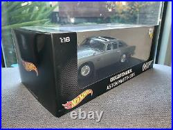 1/18 Hotwheels James Bond Goldfinger Aston Martin DB5