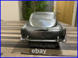 1/18 Scale 1963 James Bond Aston Martin Db5 Pewter Car By Compulsion Sculptures