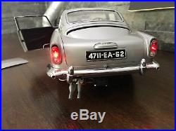 1/8 Aston Martin DB5 James Bond car by Eaglemoss Deagostini Pocher Tamiya