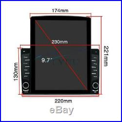 10.1 12V Android 9.1 1DIN HD Quad-Core 116GB Car Stereo Radio GPS Nav Player