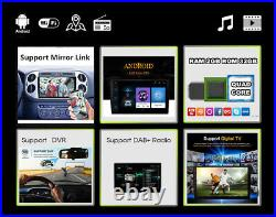 10.1In 1080P Touch Screen Rotatable Car Quad Core Stereo Radio GPS WIFI 2G+32G
