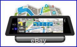 10 4G ADAS Auto Car DVR GPS Navigator MP3+Rear Camera Android 5.1 FM Radio Wifi