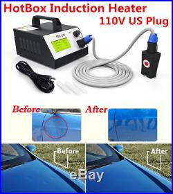 110V US Plug Hot Box Dent Removal Sheet Metal Dent Repair Induction Heater Tool