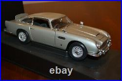 118 Autoart James Bond 1964 Aston Martin Db5 Silver Goldfinger