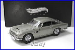 118 Elite Aston Martin DB5 James Bond 007 Goldfinger NEW bei PREMIUM-MODELCARS