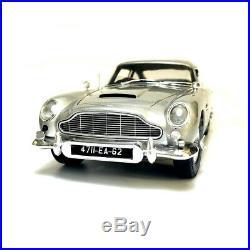 118 Hot Wheels ELITE Aston Martin DB5 Goldfinger 007 JAMES BOND Diecast Model