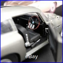 118 Hotwheels ELITE Aston Martin DB5 Goldfinger 007 JAMES BOND BLY20 Diecast