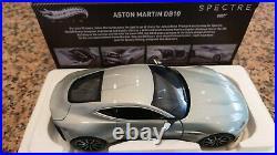 118 Mattel Hot Wheels Elite Aston Martin DB10 Spectre 007 James Bond