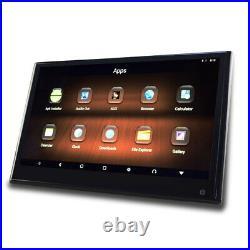 12.5 LCD Touch Screen Car HD 1080P Headrest DVD Player Monitor Bluetooth USB SD