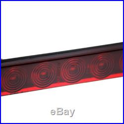 15 Red 11LED Clearance Marker Car Truck Light Bar Stop Turn Tail 3rd Brake Lamp