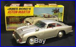 1960s Aoshin James Bond's Aston Martin made in Japan Vintage Toy F/S from Japan