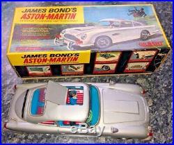 1965 A. C. Gilbert 007 James Bonds Aston Martin