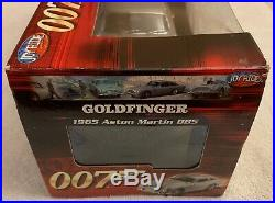 1965 ASTON MARTIN DB5, 007 James Bond Goldfinger, ERTL, 1/18, NIB, Rare, #33745