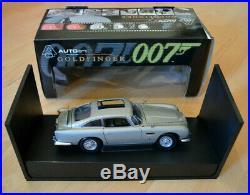 1965 Aston Martin DB5, James Bond 007 Goldfinger, AUTOart, 1/18, Rare