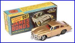 1965 Vintage Corgi No. 261 James Bond Gold Aston Martin DB5 from Goldfinger