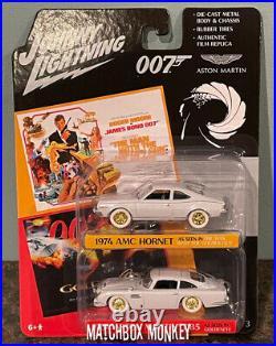 1974 HORNET 1964 DB5 James Bond 007 2 PACK JOHNNY WHITE LIGHTNING CHASE 2020