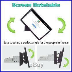 1Din Rotatable 10.1RAM 1GB ROM 16GB Car Stereo Radio GPS Player Mirror Link OBD