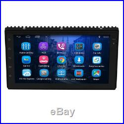 2 Din 7 Android Quad Core Car MP5 Player Bluetooth Stereo WIFI GPS Navigation
