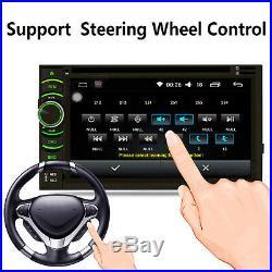 2 Din Car Stereo DVD CD MP3 Player HD In Dash AUX Bluetooth Ipod TV Radio&Camera