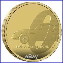2020 James Bond 007 Aston Martin DB5 £200 Gold Proof 2oz Coin Box Coa