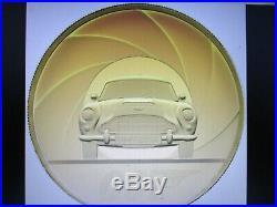 2020 Royal Mint James Bond 007 Aston Martin £500(5oz) Gold proof coin(1 of 58)