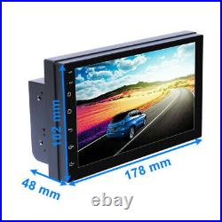 2DIN Android 8.1 Radio GPS Navigation Audio Stereo Multimedia MP5 Player Trim