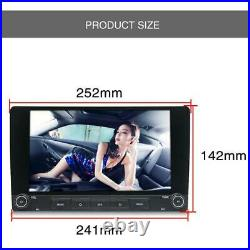 2DIN Rotatable 10.1 Android 8.1 Quad-core 1GB+16GB Car Stereo Radio GPS Player