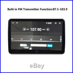 2Pcs 10.6Inch Dual 4 Core Android 6.0 Car Headrest Monitor Player WIFI Bluetooth