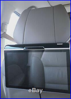 2X 11.6 HD Android 7.1 WIFI Mirror Link OBD TPMS FM Headrest Rear Seat Monitors