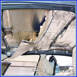 3/16 Heat Insulation Trunk Floor Firewall Soundproof Sound Deadener Mat 53sqft