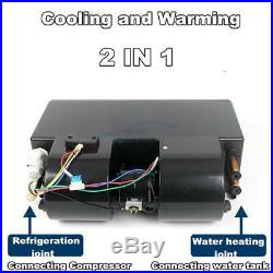 32 Pass Coil 2IN1 Car Truck Heater &Cooling Air Conditioner Underdash Evaporator