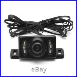 4CH Vehicle Car Mobile DVR Security Audio Video Recorder+4 CCD Cameras+IR Remote