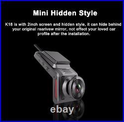 4G 1080P FHD Car DVR Dual Camera WiFi USB Video Recorder G-sensor Dash Cam