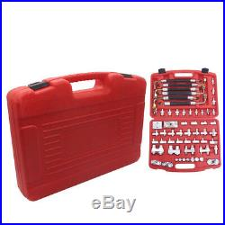 56pc Air Conditioning Leak Detector Detection Tools for Car Truck A/C Compressor