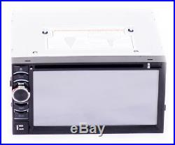 6.2'' Car Stereo Radio Double 2 DIN In Dash DVD Player + Backup Parking Camera