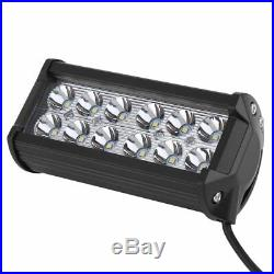 6X 36W SPOT LED Off Road Work Light Lamp 12V 24V Car Boat Truck Driving 12-LED H
