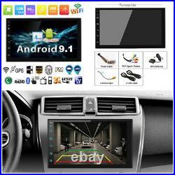 7 1080P Android 9.1 Quad-core RAM 1GB ROM 16GB Car Stereo Radio GPS Nav Player
