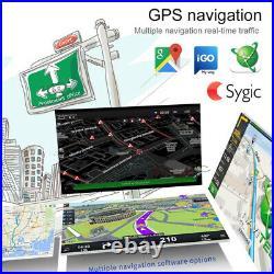 7 Screen HD Single 1DIN Flip Up GPS Navigation Car Stereo MP5 Player Radio BT