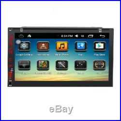 7 Smart Android6.0 3G WiFi Double 2DIN Car Radio Stereo DVD Player GPS+Camera