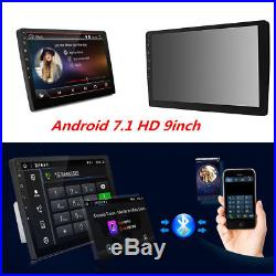 9 Android 7.1 Double 2Din Car Stereo Radio MP5 Player GPS Wifi OBD2 Mirror Link