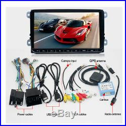 """9/"""" 1080P Quad Core Android 8.1 Car Stereo Radio 2 Din GPS Navigation Wifi 3G 4G"""