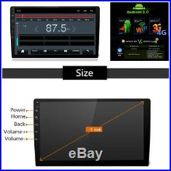 9Ultra-thin Android 8.0 1080P 2DIN Touch Screen Car Stereo Octa-Core 4G DVR GPS