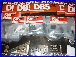 A un built Eaglemoss James Bond Aston Martin DB5, Goldfinger IN KIT FORM