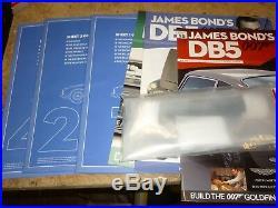 A un built kit from Eaglemoss James Bond Aston Martin DB5, Goldfinger