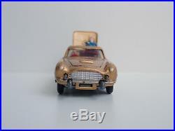 A3206 @ Tres Rare Corgi Toys James Bond Aston Martin Db5 Ref 261 En Boite