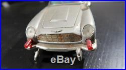 AC Gilbert James Bond 007 Aston Martin DB5 Battery Operated Car 1960s
