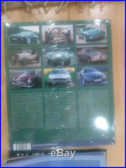 ASTON MARTIN DB 5 1/8 James Bond 007 EAGLEMOSS 1-86 Parts/ Magazine KOMPLETT