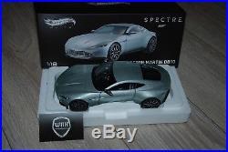 ASTON MARTIN DB10 SPECTRE 007 JAMES BOND Hotwheels elite 1/18 SUPERB SEE INFO