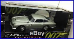 ASTON MARTIN DB5 GOLDFINGER James Bond 007 AUTOart 118 Model Car