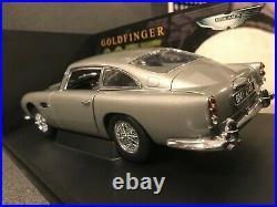 AUTOart 118 Aston Martin DB5 James Bond 007 version Goldfinger RT drive AA70020